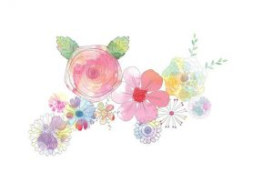 Aquarelle fleurs.