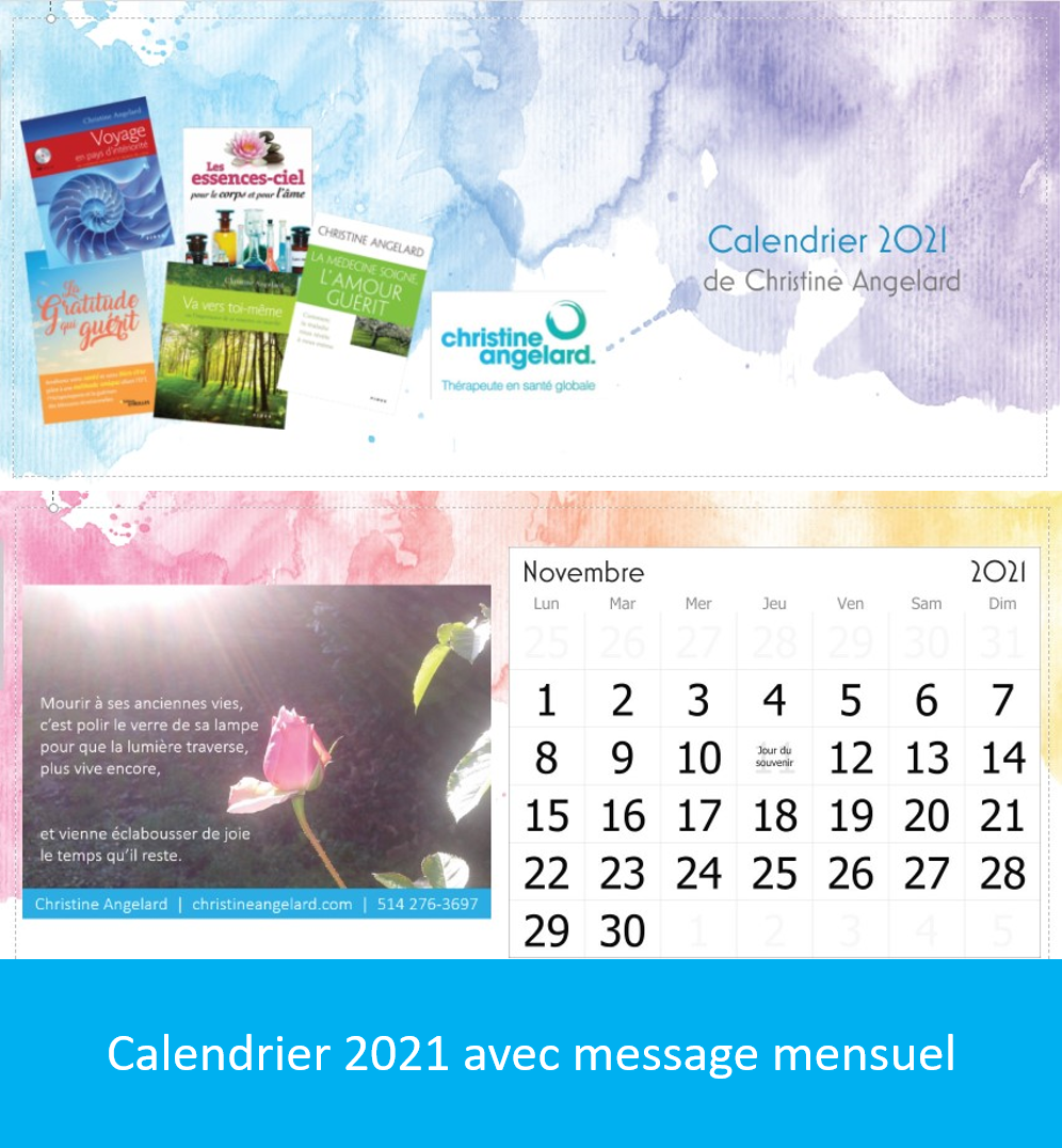 Image calendrier 2021